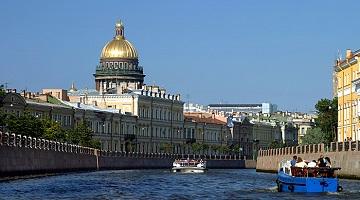 Круизы между Москвой и Санкт-Петербургом